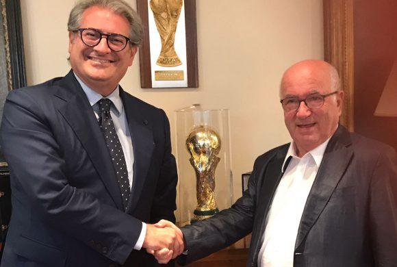 Incontro Ferrarese Tavecchio per valorizzazione stadi italiani